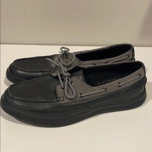 Brand new Men's Cole Haan Leather boat shoes